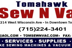 Tomahawk Sew N Vac 1